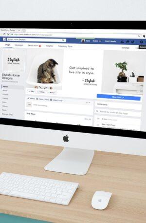 Página de Facebook en Computadora